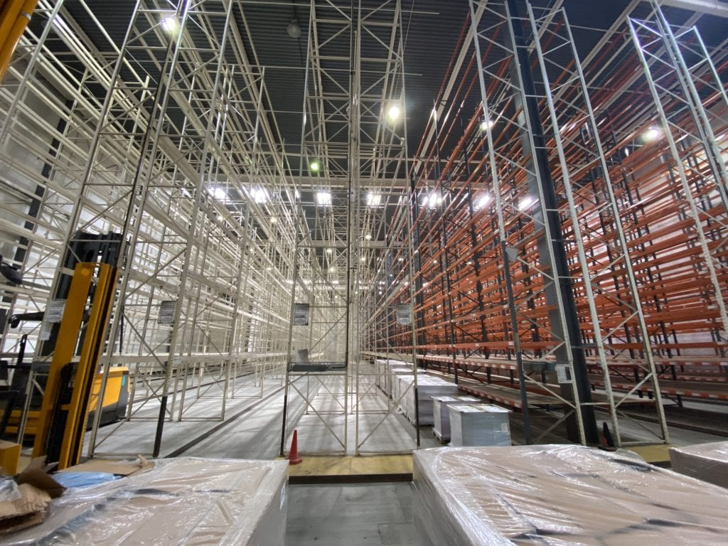 Warehouse Pallet Storage and Archiving