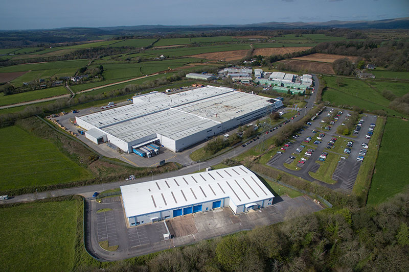broadley business centre arial shot inline the una group